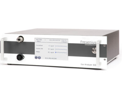 19″ NDIR Gas analyser GA3XX