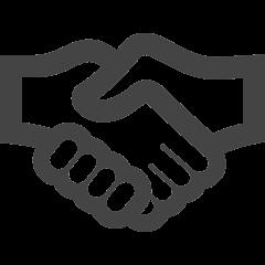 Icon hand shake