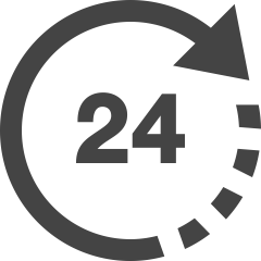 Icon 24 uur